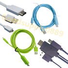 USA-11pin 1080P MHL Micro USB to HDMI HDTV Adapter Cable Samsung S5 Tab 4 Note3