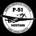 NORTH AMERICAN P-51 MUSTANG (aircraft P 51 decals model kit USAF bomber) T-SHIRT