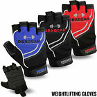 Weight Lifting Gloves Gym Body Building Fitness GripTraining Crossfit All Sizes