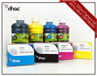 Refillable Cartridge Set for Canon Maxify MB5360 2600xl + Rihac Pigment Inks