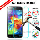 2Pcs Tempered Glass Protective Screen Film Protector For Samsung Galaxy S5mini