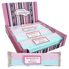 THE REAL CANDY COMPANY BUBBLEGUM FLAVOUR NOUGAT 150G PACKS 1 - 12 PACKS