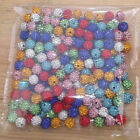 6Row Grade AA  10mm  100pc or 300pc mix color Crystal Disco Ball Shamballa Beads