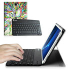 For Samsung Galaxy Tab A 10.1 inch SM-T580 Bluetooth Keyboard Leather Case Cover