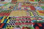 Childrens Juicy Sweets PVC Easy Wipe Clean Tablecloth 140cm Wide