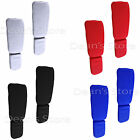 Boxing Guard Protector Shin Instep Pads MMA Leg Foot Guards Muay Kick Thai