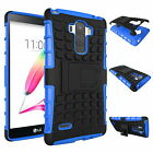 Heavy Tough Shockproof Stand Hard Armor Slim Case Cover For LG G4/ G4c / G Stylo