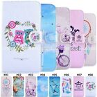 Fashion Rhinestone inlay Wallet Holder Leather Protective Case Cover For Samsung