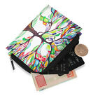 PU Leather Coin Wallet Card Holder Pouch Zipper Change Purse for Women & Men