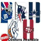 American Football Sports Team PU Leather Wallet Flip for Samsung Galaxy Phone $17.99 USD on eBay