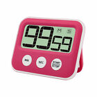LCD Digital Kitchen Timer With Magnet Count Down Alarm Battery Operated