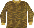 PJ Mark, Men's Long Sleeve Camouflage Shirt, Timber, S-XL