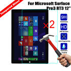 2Pcs 9H Tempered Glass Film Screen Protector For Microsoft Surface Tablet
