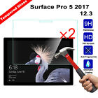 2Pcs 9H+ Tempered Glass Film Screen Protector For Microsoft Surface Pro3 / Pro 4