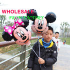 20pcs Mickey and Minnie Mouse Helium Foil Balloons with stick Party Decoration