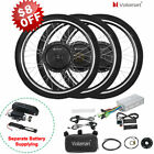 "36/48V 500/1000W Electric Bicycle E-Bike 26"" Front Rear Wheel Conversion Kit"