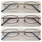 A17 Metal Frame Reading Glasses/Spring Hinges/Small Frame