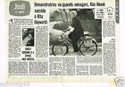 Coupure de presse Clipping 1974 (2 pages) Kim Novak succéda à Rita Hayworth