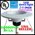 100PK DownLight 12W LED Recessed Trim Dimmable 4,5/6 Inch Retrofit Down Light UL