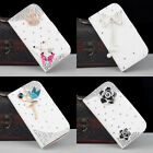 3D Bling Rhinestone Diamond Flip Wallet Leather Case Cover for iPhone 7/7Plus