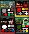 Zombie, Devil ,Witch, Vampire Make up Set Makeup Set with Applicator