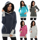 Purpless Pregnancy And Nursing Hoodie Top With Cross Over Neckline 9056