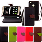 Fashion Flip Pattern Hybrid Stand PU Leather Cover TPU Case Wallet YZ  For Phone