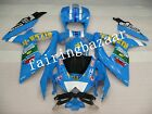 Fit for GSXR600/750 2008-2010 Rizla Blue ABS Injection Bodywork Fairing Kit