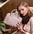 Fashion Genuine Leather Women Ladies Boston Handbag Cross Body Bag Shoulder Bag