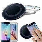 Black Wireless LED Charging Pad For Samsung,LG, Motorola, Apple iPhone iPod toch