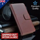 Genuine Leather Wallet Flip Cover Case For Apple iPhone 7 Plus 6 6S 5s SE
