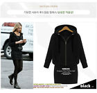 2016 New Fashion Winter Women's Cotton Coat  Long Sleeve Loose Hooded Cardigan
