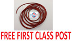 NEW SILICONE 60 O-RING CORD 9MM DIAMETER - ANY LENGTH FROM 1 METRE