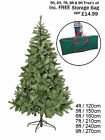 CHRISTMAS TREE COLORADO SPRUCE GREEN ARTIFICIAL TREE 4ft 5ft 6ft 7ft 8ft 9ft