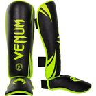 Venum Challenger Standup Shinguards (Black/Neo Yellow)