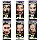 Tinsley Tattoo FX Big Mouth Transfers Halloween Fancy Dress Costume Accessory