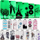 Fluorescence Silicone Soft Case Cover Back TPU Rubber Painted Skin For Apple