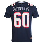 Majestic NFL New England Patriots Men's Puerco Poly Players T-Shirt
