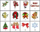 B2G1 FREE Christmas Holiday Nail Decals Set of 20 - Choose from 12 designs