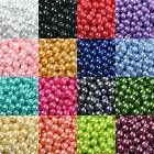 Lots 4mm 100/200pcs Round Czech Glass Pearl Loose Spacer Beads Jewelry Making
