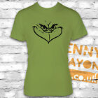 GRINCH FACE KIWI TSHIRT - FUNNY CHRISTMAS PRESENT - STOCKING FILLER GIFT