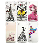 Printed Hard Back Cover Case With Diamond Work For Vivo Y11  (Item code-EB)