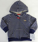 Carters 9 Months Fleece Lined Zip-Up Hoodie Cardigan Baby Boy Clothes Blue