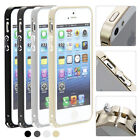 0.7mm Ultra Thin Aluminium Metal Bumper Frame Cover Case for iphone 5 5S