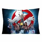 """GHOSTBUSTERS Zippered Pillow Case 16""""x 24"""" Cushion Cotton Cover - two sides"""