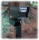 "LOCKING 1/4"" THICK STEEL HIGH SECURITY MAIL BOX @98 LBS! Extreme duty FORTRESS"