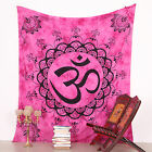 Hippie Flower OM Decor Mandala Tapestry Wall Hanging Throw Bohemian Bedspread