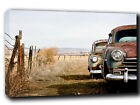 Classic Car ABSTRACT CANVAS Wall Art Print Picture