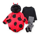 Carters 24 Months Ladybug Halloween Costume Baby Girl Outfit Holiday