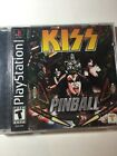 Playstation 1 PS1 KISS Pinball Game complete in case w/ manual CIB